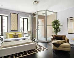 Manhattan Upper East Side Townhouse modern-bedroom