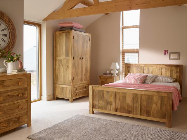 Mantis Light Solid Mango Bedroom - Contemporary - Bedroom ...