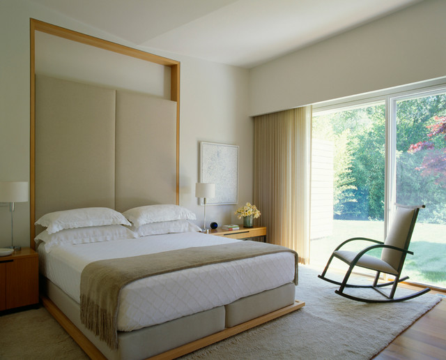 Dirk Denison Architects Building Designers Marin County Residence Contemporary Bedroom