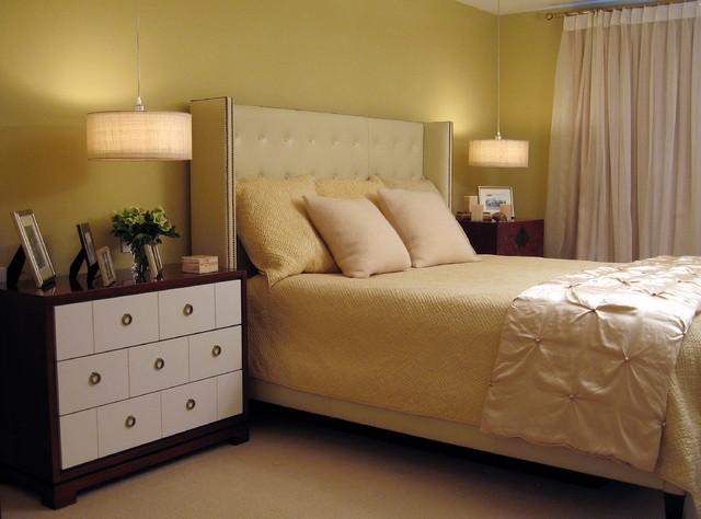Marin County contemporary-bedroom
