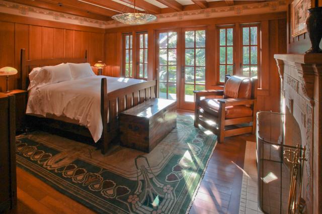 marin craftsman home craftsman bedroom