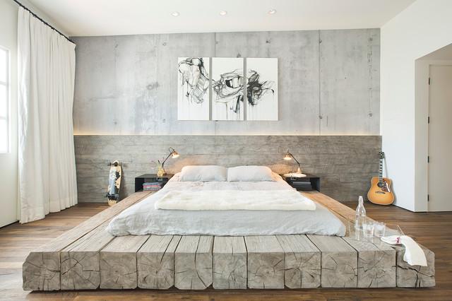 marine loft industriel chambre santa barbara par. Black Bedroom Furniture Sets. Home Design Ideas