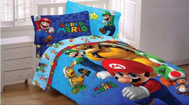 Mario Kart  Bed Sheets