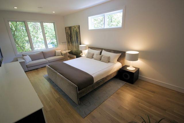 Marion Condominium Master Bedroom Modern Bedroom Atlanta By Sean Key Design Architecture