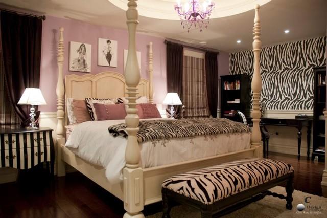 Markham Mansion Girlu0027s Room Transitional Bedroom