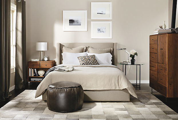 Marlo Bed with Whitney Collection by R&B - Modern - Bedroom ...