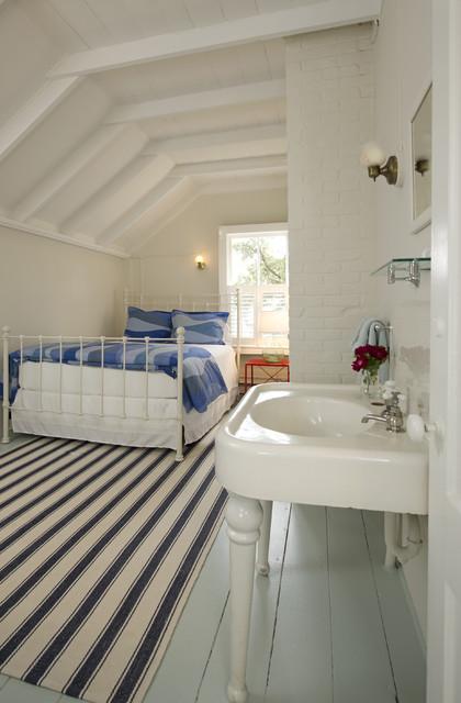Martha's Vineyard Bedroom beach-style-bedroom