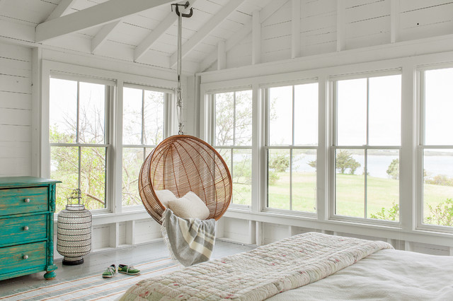 Martha's Vineyard Summer House coastal-bedroom