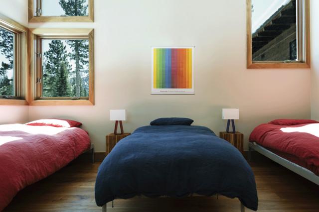 Martis Camp #246 rustic-bedroom