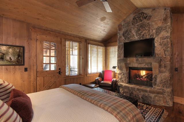 Martis Camp Lake Tahoe Rustic Bedroom Other By Studio V Interior Design
