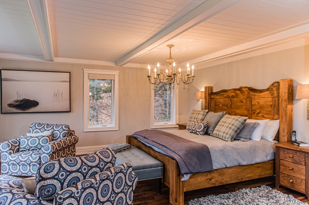 Inspiration for a timeless bedroom remodel in Toronto