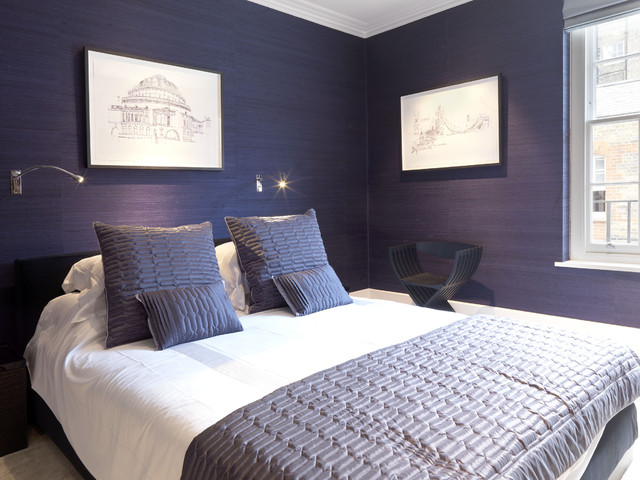 Marylebone Apartment - London contemporary-bedroom