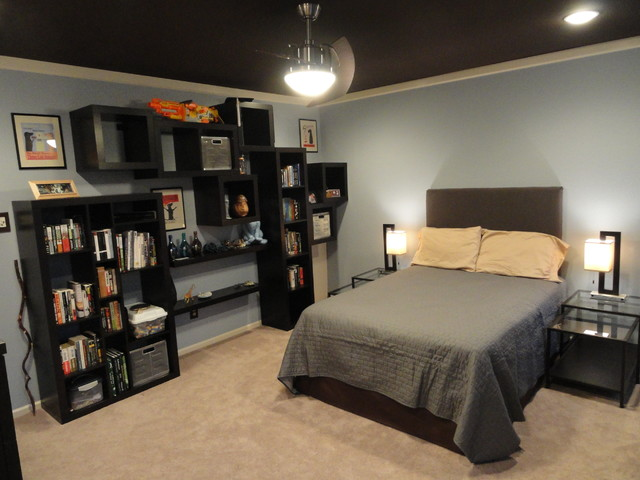 Masculine Bedroom Contemporary Bedroom Philadelphia