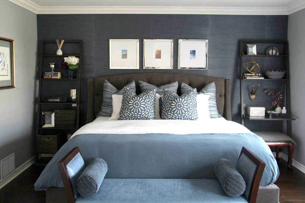 Masculine Master - Contemporary - Bedroom - Montreal - by ...