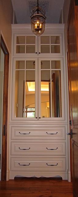 Master Bath Vestibule Custom Cabinetry Transitional Bedroom San Francisco By