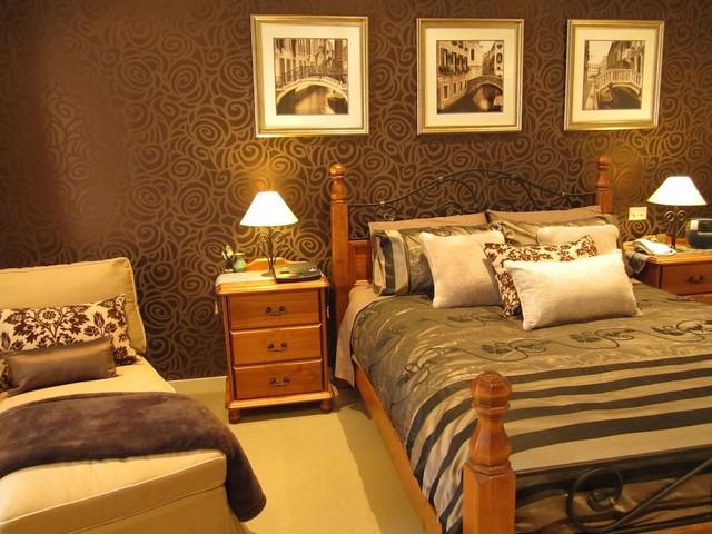 Master bedroom, 2 story home, San Diego, CA contemporary-bedroom