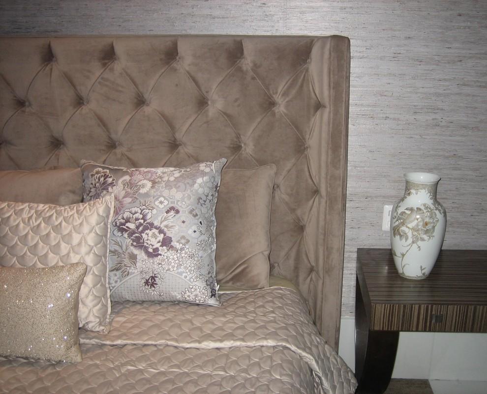 Example of a trendy bedroom design in Los Angeles