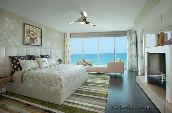 Master Bedroom A Romantic Retreat Contemporary Bedroom Other Metro By K2 Design Group