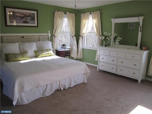 Master Bedroom after Home Staging traditional-bedroom