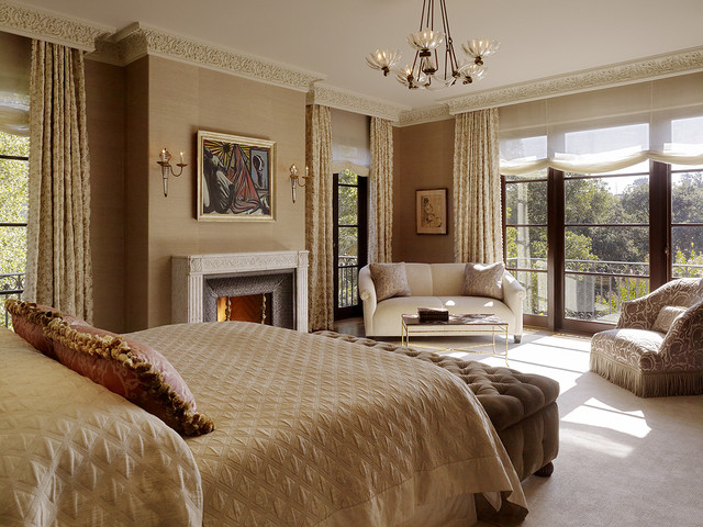 Master bedroom mediterranean bedroom san francisco by alderson construction Master bedroom ideas houzz