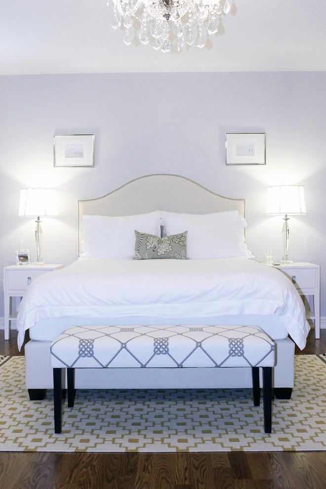 Example of a trendy bedroom design in Toronto