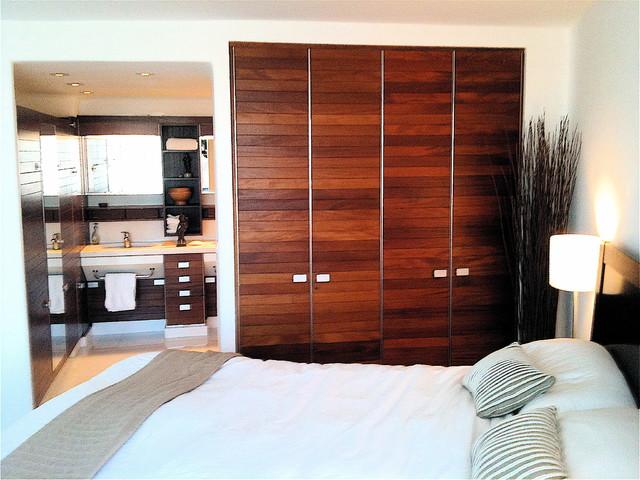 Master Bedroom & Bath contemporary-bedroom