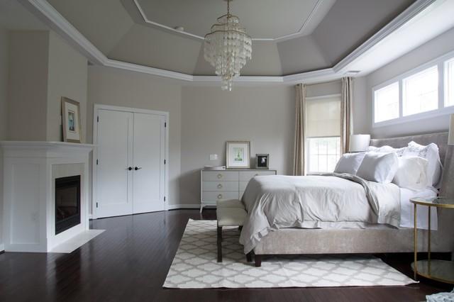 Master Bedroom and Bath Remodel, Aldie, VA transitional-bedroom