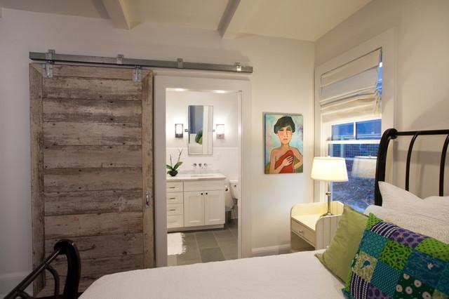 Master Bedroom With Bathroom master bedroom & bath - contemporary - bedroom - new york -
