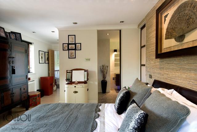 Master Bedroom & Ensuite eclectic-bedroom