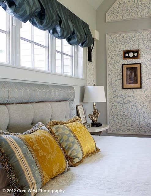 Master Bedroom and Master Bath eclectic-bedroom
