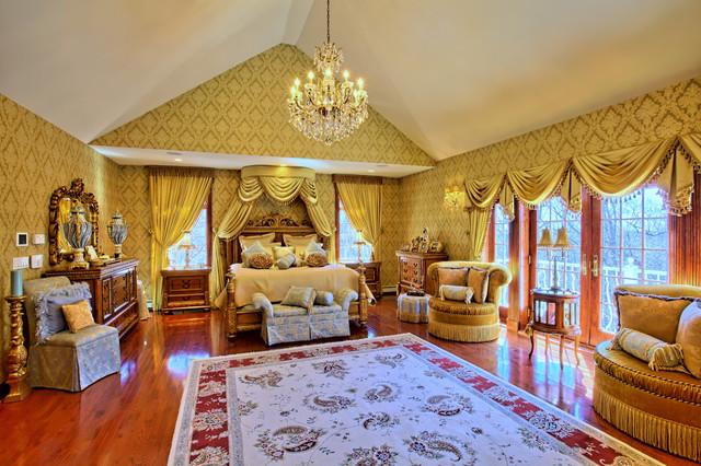 Master bedroom for Annmarie ruta elegant interior designs