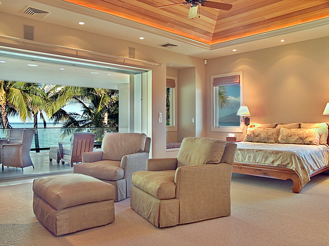 Master Bedroom Tropical Bedroom Hawaii By
