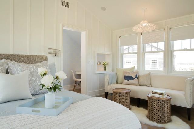 Master bedroom bord de mer chambre boston par - Chambre bord de mer ...