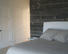 Master Bedroom Barnwood contemporary bedroom