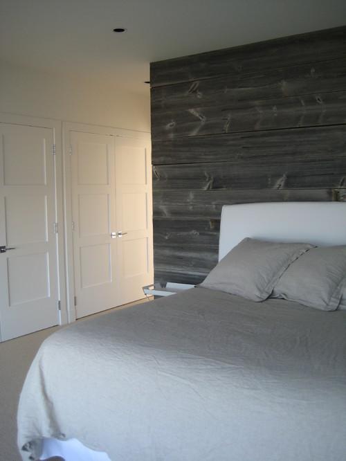 Master Bedroom Barnwood contemporary bedroom