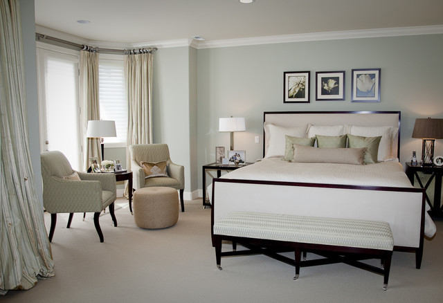 contemporary bedroom by Beverly Bradshaw Interiors