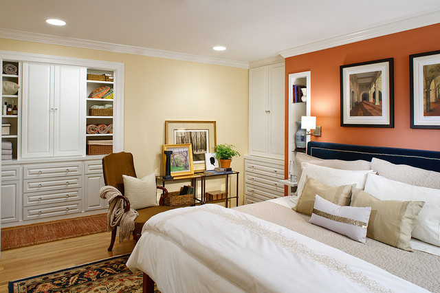 Master Bedroom Built Ins Contemporary Bedroom Dc