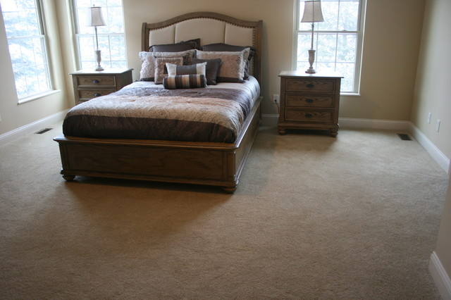Traditional Bedroom Carpet : Master bedroom carpet traditional other by
