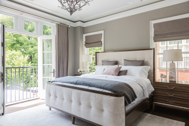 master bedroom classique chic chambre raleigh par catherine nguyen photography. Black Bedroom Furniture Sets. Home Design Ideas