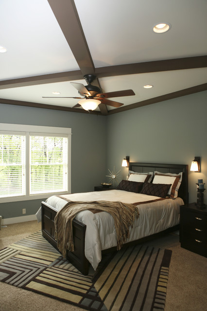 Master Bedroom Ceiling Beams Traditional Bedroom Grand Rapids By J J