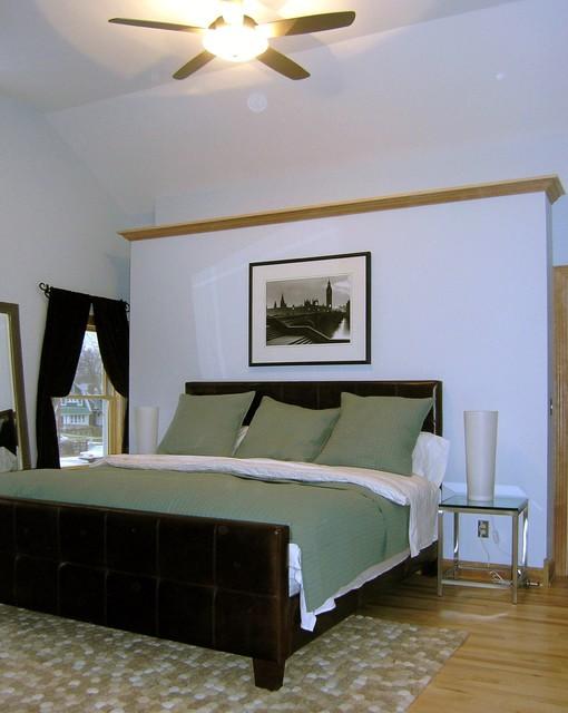 Master Bedroom Traditional Bedroom Milwaukee By Chrysalis Home Studio