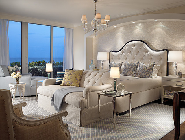 Master bedroom beach style bedroom miami by cindy for Interior design styles master bedroom