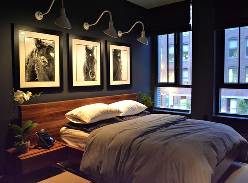 Dramatic Dark Bedrooms -