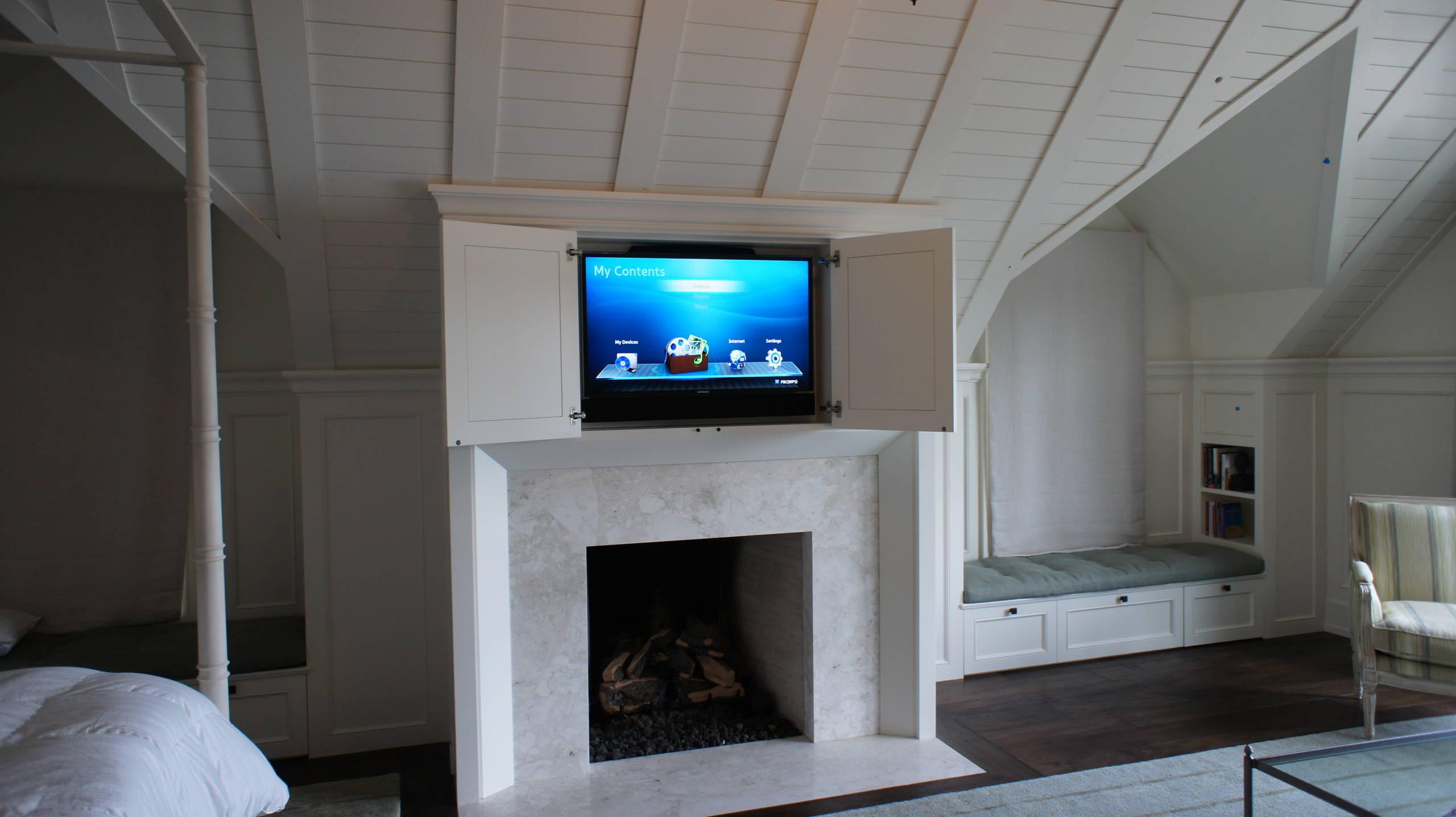 Master Bedroom Concealed TV