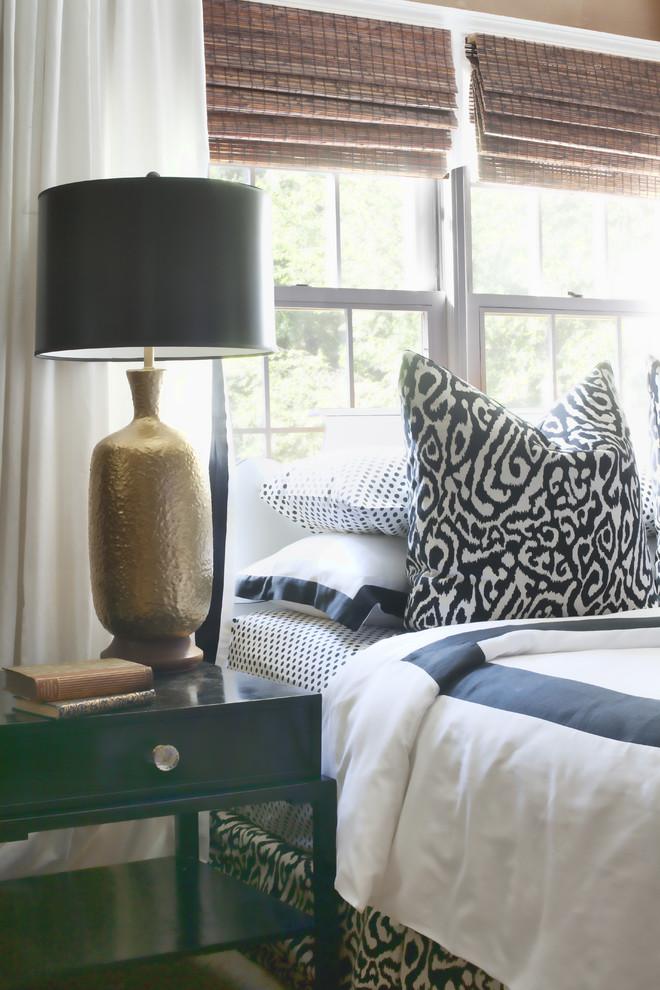 Eclectic bedroom photo in Atlanta