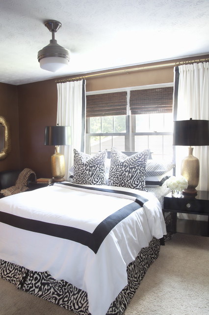 Master bedroom eclectic bedroom atlanta by dayka robinson designs Master bedroom ideas houzz