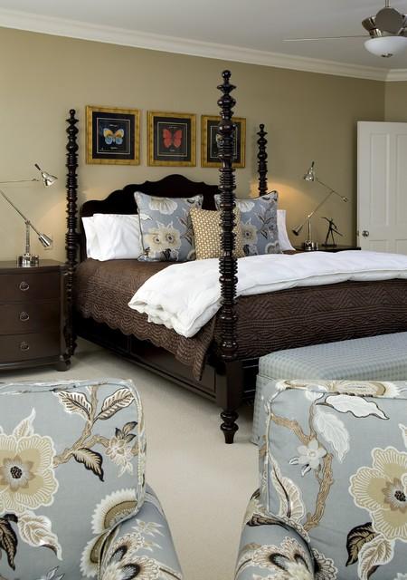 Master Bedroom Designed by Petrella Desgins, Inc. traditional-bedroom