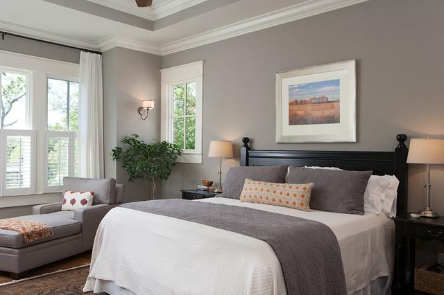 master bedroom detail craftsman bedroom
