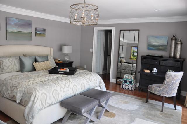 Master Bedroom - Transitional - Bedroom - Boston - by Dover ...