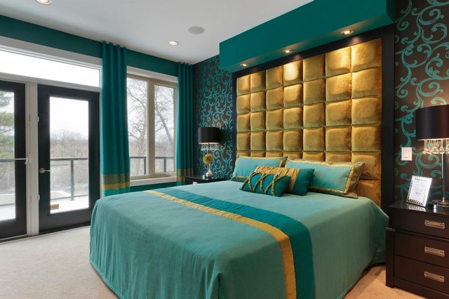 Master Bedroom Eclectic Bedroom Other Metro By Fenwick Company Interior Design